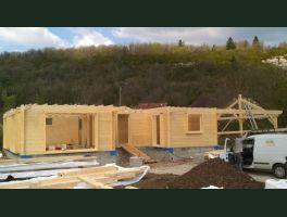 Nouvelle maison bois pour habitation principale à CHARCIER (39)