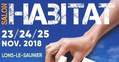 SALON HABITAT LONS LE SAUNIER du 23/11 au 25/11/2018