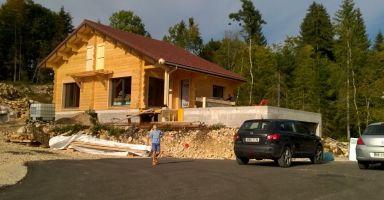 LAMOURA (39), une nouvelle construction voit le jour